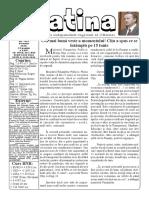 Datina - 10.06.2020 - prima pagină