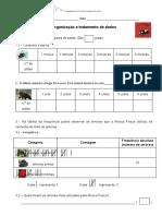 Mosca Fosca MAT-Organização e tratamento de dados