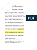 Judith Butler- Notas de Política de género y el derecho a aparecer
