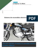 Sistema Electrico de la moto
