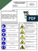 ES05-PC11 ESTÁNDAR DE SEGURIDAD CORTADORA DE ADOBE