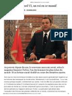 MAROC. Mohammed VI, un roi en or massif.pdf
