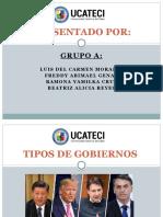 TIPOS DE GOBIERNOS