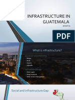 INFRASTRUCTURE IN GUATEMALA
