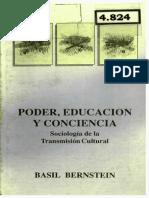 Bernstein - Poder, Educación y Conciencia.pdf