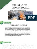 SEMINARIO DE VIOLENCIA DIAPOSTIVAS 2 CLASE