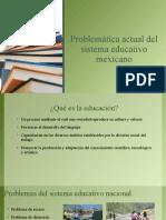 Problemática educativa en México
