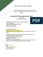 Información para Invitación Digital Memorias II