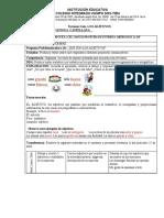 TALLER 1 SEMANA(20-24)  LENGUA CASTELLANA. 3° (1)
