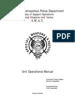 SWAT Unit Operations Manual.pdf