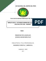 Tesis para optar el título de ingeniero forestal