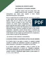 LOS CARISMAS DEL ESPIRITU SANTO.docx