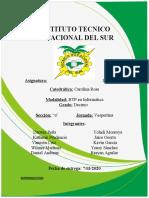 Informe Tecnico Vocasional del Sur bill gates