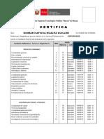 Certificado para HUALPA GUILLEN KATICSA-CONTAB.