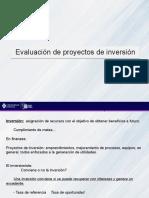 Evaluación de proyectos de inversion