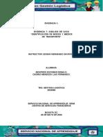 EVIDENCIA 7 ANALISIS CASO IDENTIFICACION MEDIOS DE TRANSPORTE