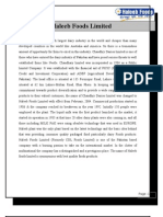 Case Study of Haleeb Food