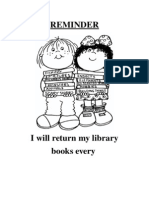 library reminder