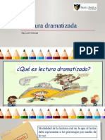 La lectura dramatizada 1° IESA