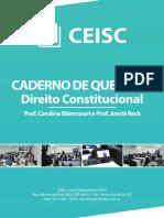 Caderno de Questões- Constitucional