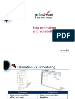 PST Presents Test Estimation and Scheduling 201006