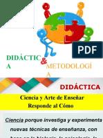 DIDACTICA Y METODOLOGIA