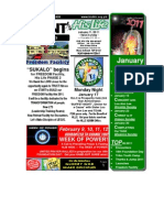 January 9 2011 Newsletter One Half Version