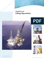 Guidelines for Lifting Operation