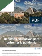 Recursos educativos para enfrentar la pandemia - Presentación Televisa