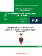 MTU-EL APRENDIZAJE A LO LARGO DE LA VIDA