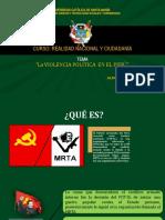 SESIÓN 5 LA VIOLENCIA POLÍTICAEN EN EL PERÚ