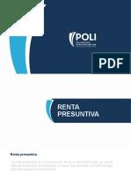 Renta Presuntiva y Conciliación Fiscal