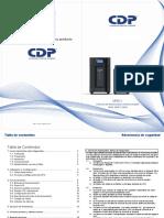 CDP CHICAGO DIGITAL POWER UPO11 espanol