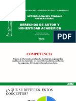 MTU-DERECHOS DE AUTOR Y HONESTIDAD ACADÉMICA(2).pptx