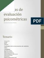 Técnicas de evaluación psicométricas
