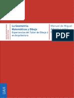 La Geometria Matematicas y Dibujo - Manual de Miguel