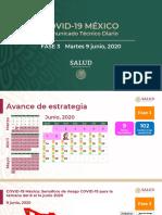 CP Salud CTD Coronavirus COVID-19, 09jun20