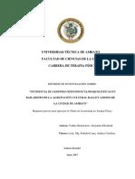 Proyecto de Investigacion.. Alejandra Valdez