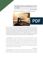 Las Cargas Probatorias Dinámicas y Su Alcance en El Código Civil y Comercial