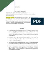 DEMANDA ORDINARIA CORTE DE CAÑA