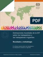 OIT (2015) Estimaciones mundiales de la OIT sobre los trabajadores y las trabajadoras migrantes. Resultados y metodología