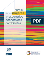 CEPAL (2019), Economía del cuidado - tendencias e impactos del cambio demográfico