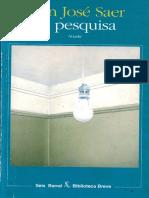 Saer, Juan José - La Pesquisa
