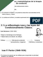 Bases Teoricas y metodologicas de la TCC