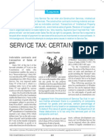 Accounting for Service Tax
