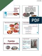 ALTERACION MICROBIANA CARNES PROCESADAS, PESCADOS Y MARISCOS