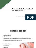 1 Semiologia Cardiovascular en Pediatria - Dr. Moreano