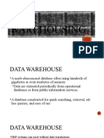 Data Warehousing.AIS