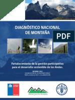 FAO diagnostico nacional de montaña 2012