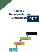 Tópico7-DesempenhodasOrganizações